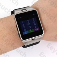 all'ingrosso wireless camera watch-10PCS GV18 intelligente orologio senza fili smart watch Bluetooth con la macchina fotografica impermeabile intelligente orologio da polso per il telefono Android Smartphones 10PCS