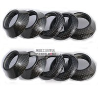 Wholesale Full carbon fiber mountain bike headset road bicycle headset bowl taper set washer for mm fork mm height