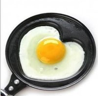 Cheap Wholesale-Warm breakfast omelette pan cartoon mini pancakes Fried egg is frying pan creative love Fried egg wholesale without cover