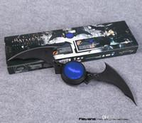 Wholesale 40 cm NECA DC Comics Batman Arkham Knight Batarang Replica Action Figure with Light Collectible Model Toy frozen