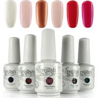 Soak-off Gel Polish gelish polish - 12pcs high quality soak off gel polish nail gel lacquer varnish for gelish nail polish uv gel