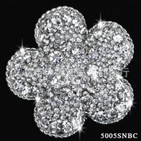 aqua blossom - New Arrival Alloy Plum Blossom Wedding Brooch For Women Bridal Brooch Wedding Accessory SNBC