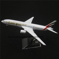 airplane emirates - cm Alloy Metal Air Emirates Airlines Boeing B777 Airways Airplane Model Plane Model W Stand Aircraft Toy Gift