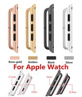 band edit - New Version Connectors adapter Stainless Steel Clasp Colour Universal Watch Band Strap Adapter for Apple Watch Edit Sport Classic Modern