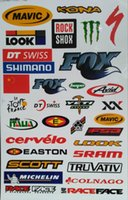 Wholesale 3 Brand New Bike Stickers Mountain Road Scratch Decorative Decals Affixed Riding Equipment Accessories ZT210