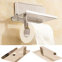 Wholesale New Toilet Tissue Holder Stainless Steel Paper Holders Hanger Bathroom Wall Hanging Decoration x9x7 cm