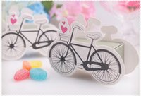Wholesale 1000PCS The creative style of bicycle candy box candy box DIY chocolate boxes favor holders