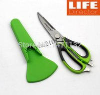 Wholesale Top Quality Detachable Multifunction Scissor Stainless Steel Kitchen Knives Cooking Tools Ktchen Accessories Patent Magnetic