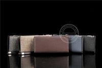 Wholesale luxury genuine leather men wallet men purse men clutch designer bifold wallet for men vertical long shape with a clip handle luxury quality