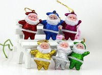 christmas items - Funky Santa Christmas Tree Decorations Ornaments santa christmas items