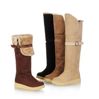 Cheap Factory Outlet wholesale trade - thick snow boots warm shoes casual shoes large size women shoes 40-43