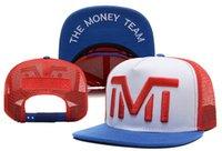 Wholesale 2015 New The Money Team TMT Net Breathable Snapbacks Cap Adjustable Baseball Caps Men Women Hats Mix Order