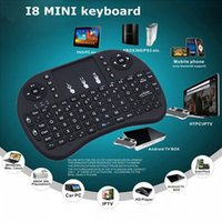 Cheap Rii Mini I8 2.4GHz Wireless Fly Air Mouse Mini Handheld Keyboard Touchpad Remote Control M8S MXQ MXIII TV BOX
