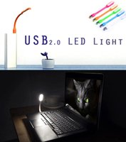 bendable bright light - 2015 lamps Bright Soft Light Many colors USB LED Light for Notebook Laptop Tablet PC USB Universal portable bendable USB Lamp