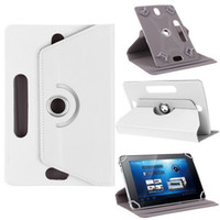 amazon coffee - Universal Tablet Cases Rotating Case PU Leather Stand Cover inch with Card Buckle for Mini iPad Air Samsung Tab Parcel Ship