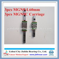Wholesale 3pcs MGN9 mm Linear Guide rails MGN9 L mm linear rail way MGN9C Long linear carriage for CNC X Y Z Axis CNC