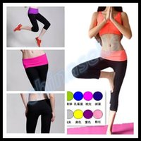 Wholesale woman sports fitness hot pants lady YOGA pants running Gym Leggings athletic Pants S XXL colour choose