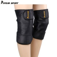 Wholesale Self heating knee pads short paragraph leggings thick warm long cold ride electric and magnetic permeability