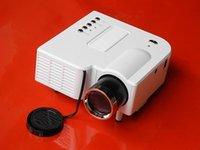 Wholesale 1080P HD Multimedia UC28 Portable mini LED Projector projecteur Home Theater HDMI VGA AV USB SD lamp Remote Control projector