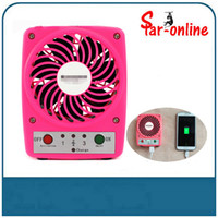battery operated mobiles - Portable Mini USB Fan Lithium Battery Operated Micro Mini Electric Fans for Mobile Phone Charging MF001