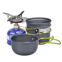 Wholesale Useful Cookware Outdoor Pan Camping Hiking Backpacking Cooking Picnic Bowl Pot