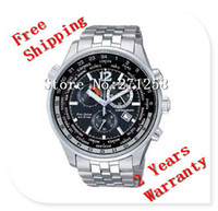 1 - free hk shipping _Absolute luxury New AT0360 AT0365 Men s Gents AT AT Chronograph Wrist Watch AT0360 E AT0365 E gift box NO