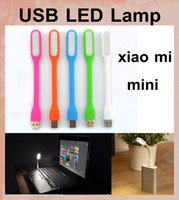 Wholesale Mini USB Light Xiaomi LED Light Gadget Portable Bendable Outdoor Sports Soft LED Light For Power bank Computer dhl free ship OTH062