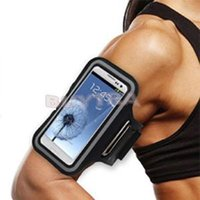 Wholesale Cheap Exercise Arm band Cover Tune Belt for Samsung Galaxy Note Sports ArmBand Case Holder Gym Band For Sale