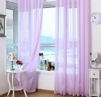 Wholesale 54 quot X90 quot Organza Curtains for Living Room Window Hotel Solid Scarf Valance Drape Panel Brand New CL OGS