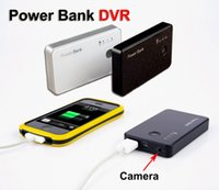 Wholesale Mini camera HD p mini DVR Power Bank camcorder motion detection portable security camera