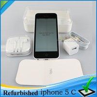 Wholesale 2015 Refurbished Apple iPhone C Cell phone GB GB dual core WCDMA WiFi GPS MP Camera Smartphone Renew iPhone5c