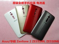 Wholesale Original Back Cover Case Replacement parts For ASUS Zenfone ZE550ML ZE551ML Battery Housing Door with Side Key
