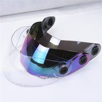 Wholesale motorcycle helmet windshield JIEKAI helmet glass jiekai helmet visor clear visor colorful visor mirror visor