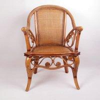Wholesale Enron Coffee House Cheap rattan chair three piece leisure chair balcony armchair home rich Maria