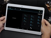 Wholesale Genuine inch Tablet PC inch quad core tablet can call the phone dual sim G talk navigation