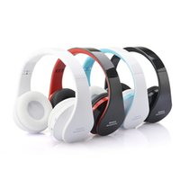 wireless headphones - New NX Foldable Wireless Bluetooth Stereo Headphone Headset with Mic Circumaural Sports Running DHL