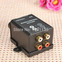 bass booster amplifier - Car Home Universal Remote Level Amplifier Bass Controller RCA Gain Level Volume Control Knob Booster M7555