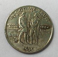 bicentennial dollars - 1936 S United States Half Dollar Boone Bicentennial Silver Plated