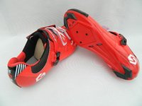 Wholesale Sidebike Cycling Shoes for road bike light bicycle shoes PU leather SD003 freeshipping