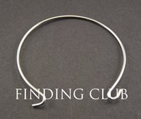 Wholesale Hot Sale Rhodium plated Copper Expandable Adjustable Wire Wrapped Bangle Bracelet For Beading Or Charm Alex And Ani