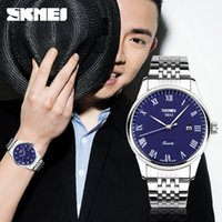 atmosphere beauty - Moments of genuine beauty waterproof quartz watch fashion minimalist atmosphere male table steel watches men s
