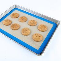baking parchment paper - Silicone Baking Mat Professional Grade Cookie Sheet Replaces Parchment Paper Great Gift Ideas Non stick Durable Reusable
