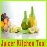 Wholesale Fruit Citrus Lemon Lime Orange Stem Sprayer Juice Maker Juicer Kitchen Tool Hand Fruit Spray Tool Factory Price Christmas Gift A460X