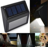 Wholesale new LED Solar Power PIR Motion Sensor Wall Light Outdoor Waterproof Garden Lamp