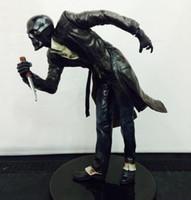 batman statues - 10pcs cm Batman Arkham City The Joker Roman Sionis Fancy Dress Statue with mask PVC Action Figure Collection Model Toy