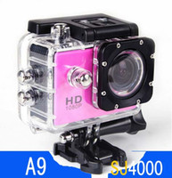 action pc sports - 5 Gopro waterproof Sports Camera SJ4000 plus Style A9 HD Action Camera Diving P M quot View Mini DV DVR digital Camcorders