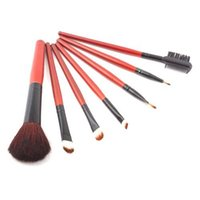 hair gloss - 2014 Hot Sale Special Best Quality set Makeup Brush Set Foundation Eyeshadow Blush Lip Gloss Pen Case