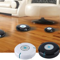 Wholesale 9 inch Wireless Home Robotic Smart Auto Cleaner Robot with Microfiber Tissue Remove Dust Cleaning Helper
