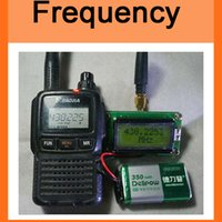 Wholesale High Accuracy RF to MHz Frequency Counter Tester meter measurement For ham Radio Digital lcd meter