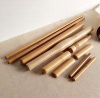 Wholesale 10pcs set Bamboo Body Massager Pole Massage Stick Water proof Wood Craft